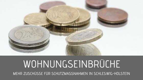 Wohnungseinbrüche – Mehr Zuschüsse Für Schutzmaßnahmen In Schleswig-Holstein