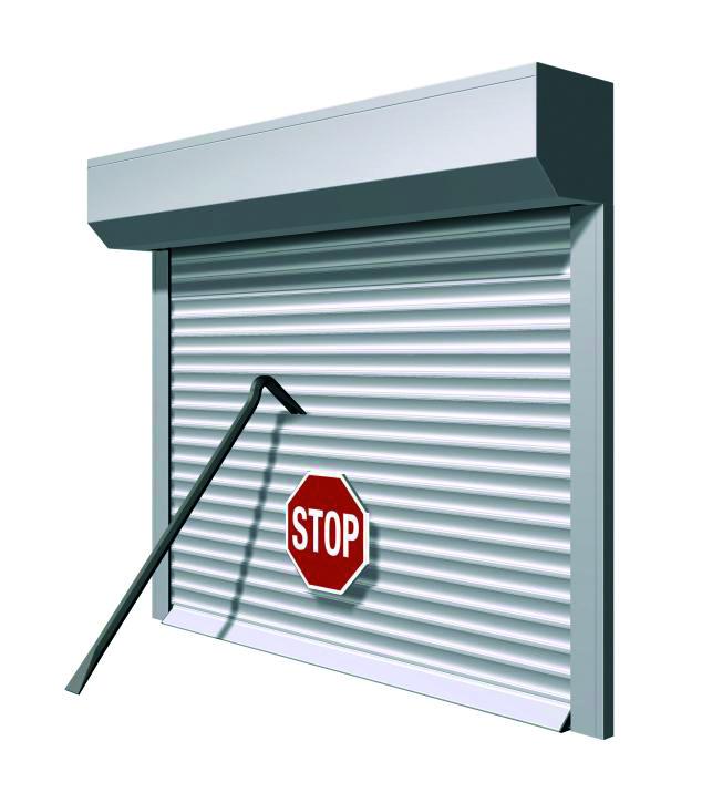 Rollladen von Staal bieten einen Schutz vor Einbrechern