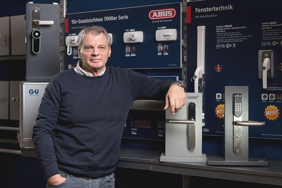 Klaus Edier von BWB Sicherheitstechnik in Kiel