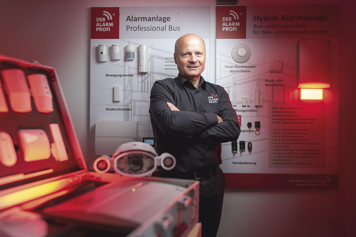 Volker Weber von DER ALARM PROFI in Kiel