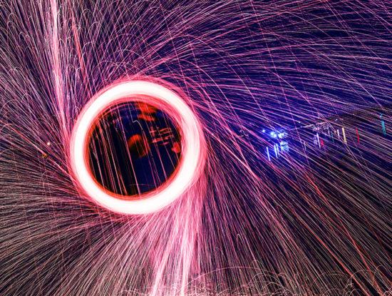 Silvesterfeuerwerk Sicher Abbrennen