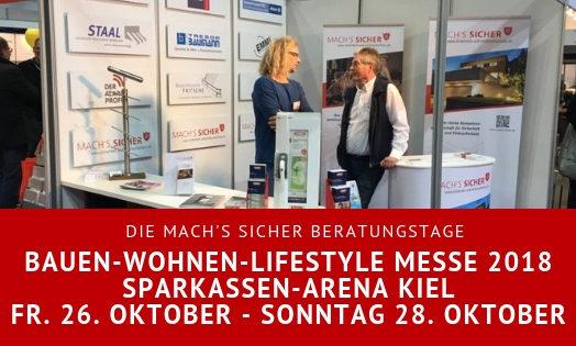 Mach's Sicher Auf Der Bauen-Wohnen-Lifestyle Messe 2018