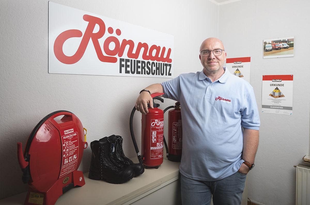 Thorsten Rönnau von Rönnau Feuerschutz in Kiel