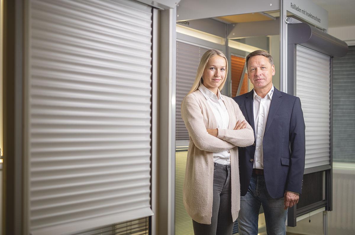Carolin und Klaus-Peter Staal von STAAL Rollladen- und Sonnenschutz in Kiel